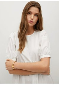 Mango - MED VOLANG - Day dress - offwhite - 4