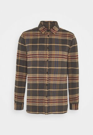 HIGHLIGHT CHECK - Shirt - grey