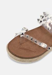 Madden Girl - CASE - T-bar sandals - clear - 5