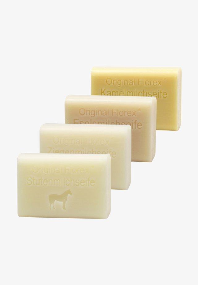 FLOREX MILCHSEIFEN ZIEGENMILCH STUTENMILCH KAMELMILCH ESELSMILCH - Soap bar - -