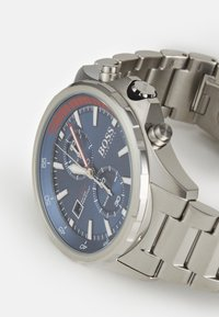 BOSS - GLOBETROTTER - Chronograph watch - silver-coloured - 3