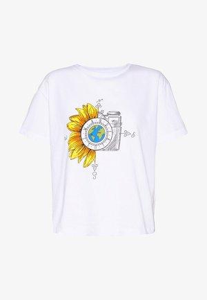 BEYAZ - T-shirts print - white