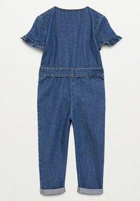 Mango - DELTA - Jumpsuit - blu medio - 1