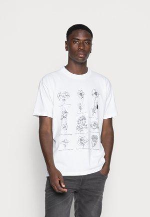 FLOWER PACKET - T-Shirt print - white