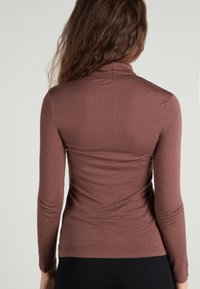 Tezenis - HOCH GESCHNITTENES - Long sleeved top - braun - 044u - brown - 1