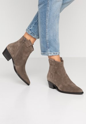 EVE - Cowboy/biker ankle boot - smoke