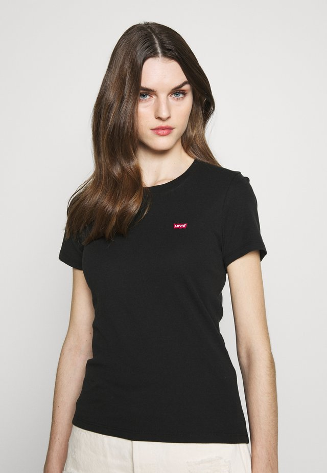 BABY TEE - T-shirt con stampa - mineral black
