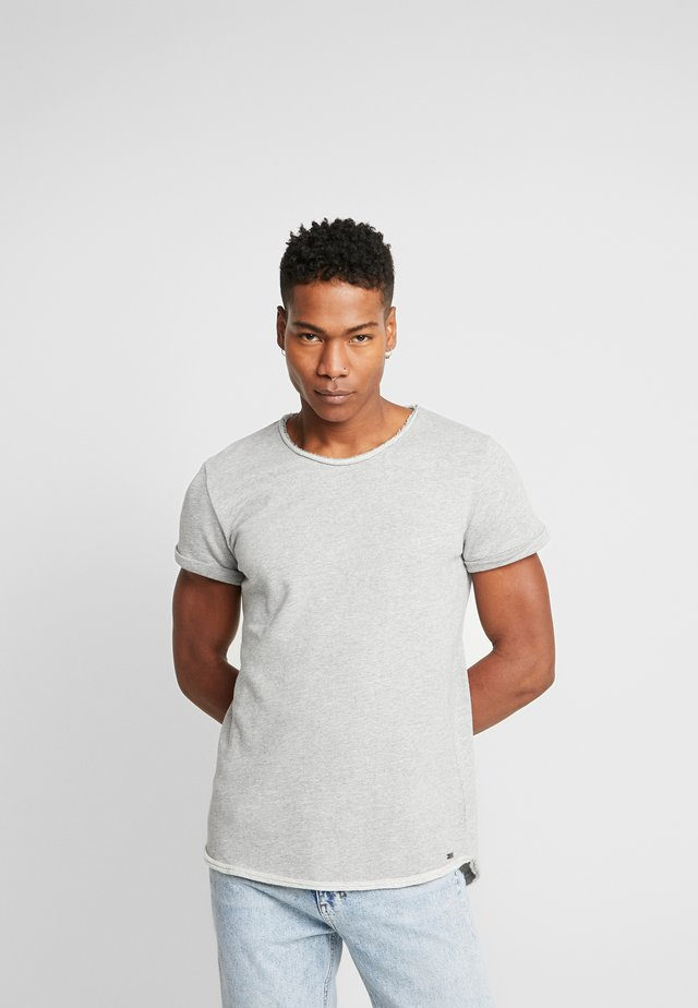 MILO - T-shirt basic - grey melange