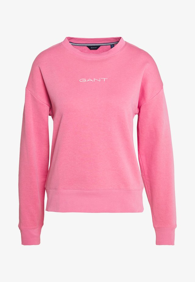 STRIPES C NECK - Sweatshirt - light pink