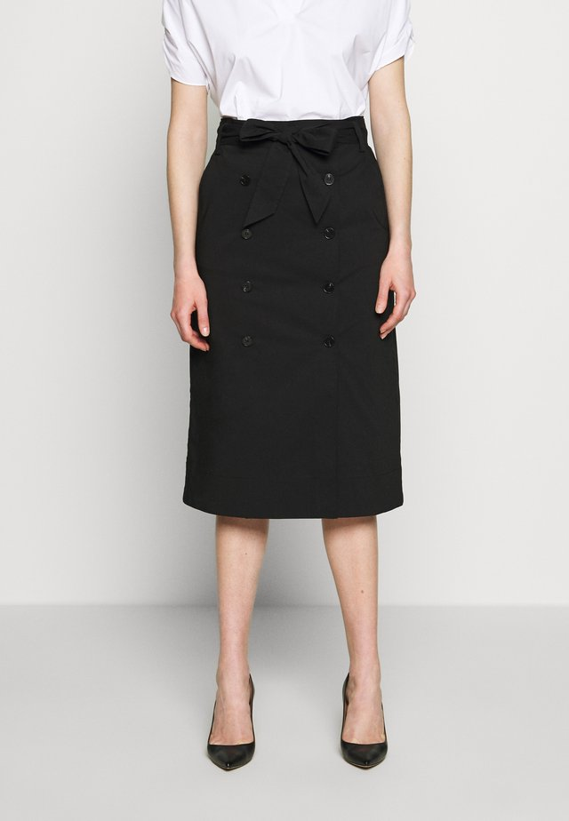 BELLA ADVENTUROUS SKIRT - Pencil skirt - black