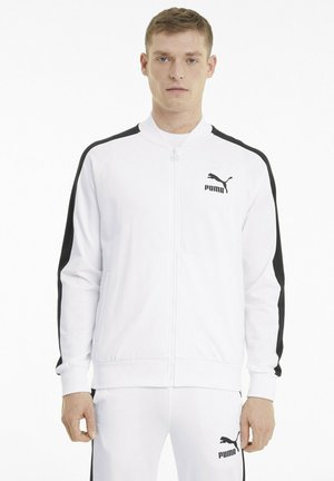 ICONIC T7 - Trainingsjacke - white