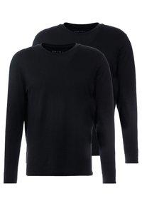 2 PACK - Top sdlouhým rukávem - black