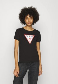 Guess - ORIGINAL - T-shirt print - jet black - 0