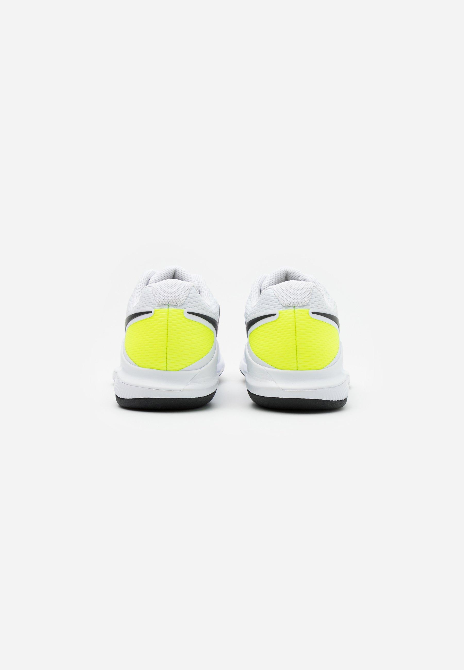 Compras Calzado de hombre Nike Performance AIR ZOOM VAPOR X CPT Zapatillas de tenis para moqueta sintética white/black/volt bU7aQi