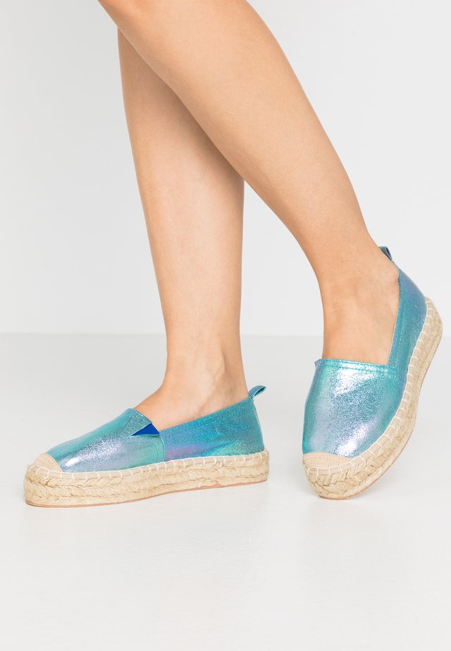 Espadrille - multicoloured
