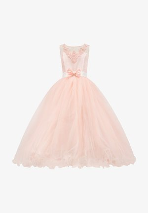 Traumhaftes mit Schleife - Cocktail dress / Party dress - lachs