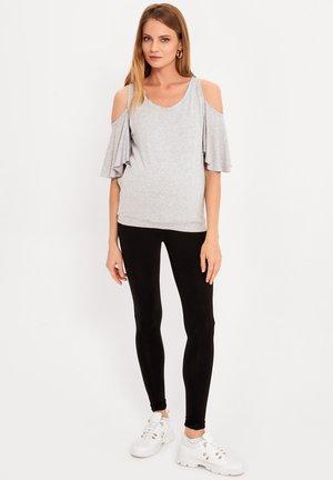 MATERNITY & NURSING - Print T-shirt - grey