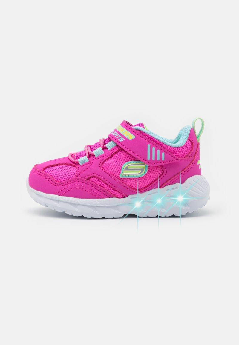 Skechers - MAGNA LIGHTS - Tenisky - pink/multicolor/hot pink
