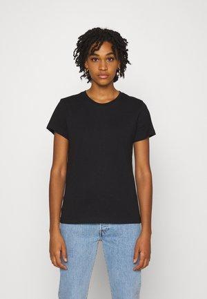 ROSA BASIC TEE - T-shirts - black jet