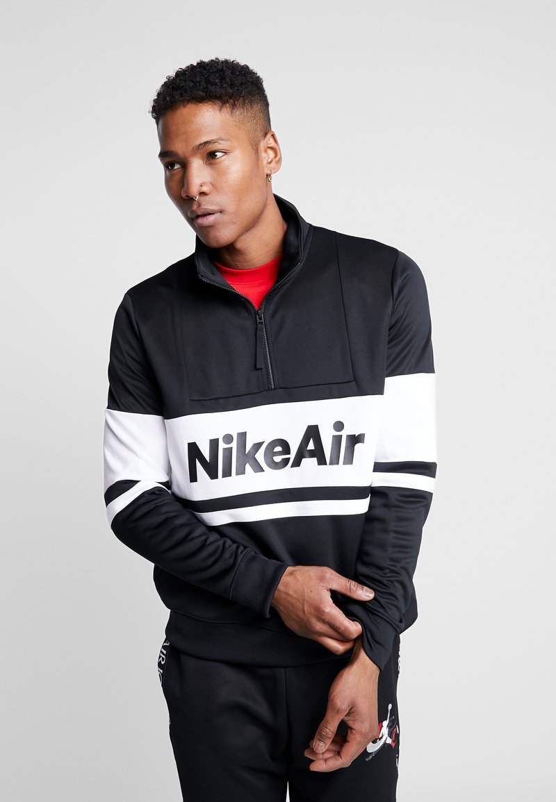 Nike Sportswear - M NSW NIKE AIR JKT PK - Kevyt takki - black/white/university red