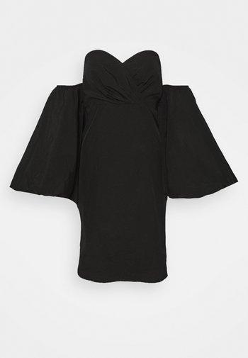 EXTREME PUFF SLEEVE MINI DRESS - Cocktail dress / Party dress - black