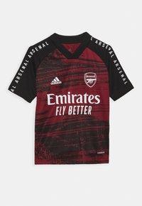 adidas Performance - ARSENAL FC AEROREADY SPORTS FOOTBALL  - Club wear - bordeaux - 0