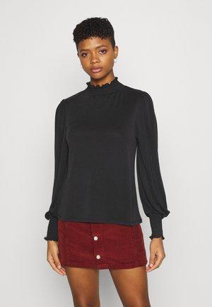OBJLAYLA  - Long sleeved top - black