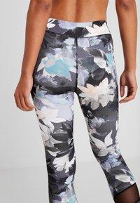 Even&Odd active - Leggings - black/multicoloured - 3