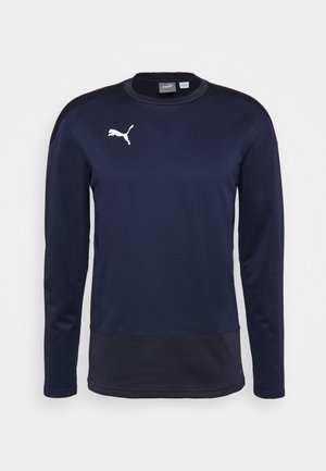 TEAMGOAL TRAINING  - Fleecetröja - peacoat/new navy
