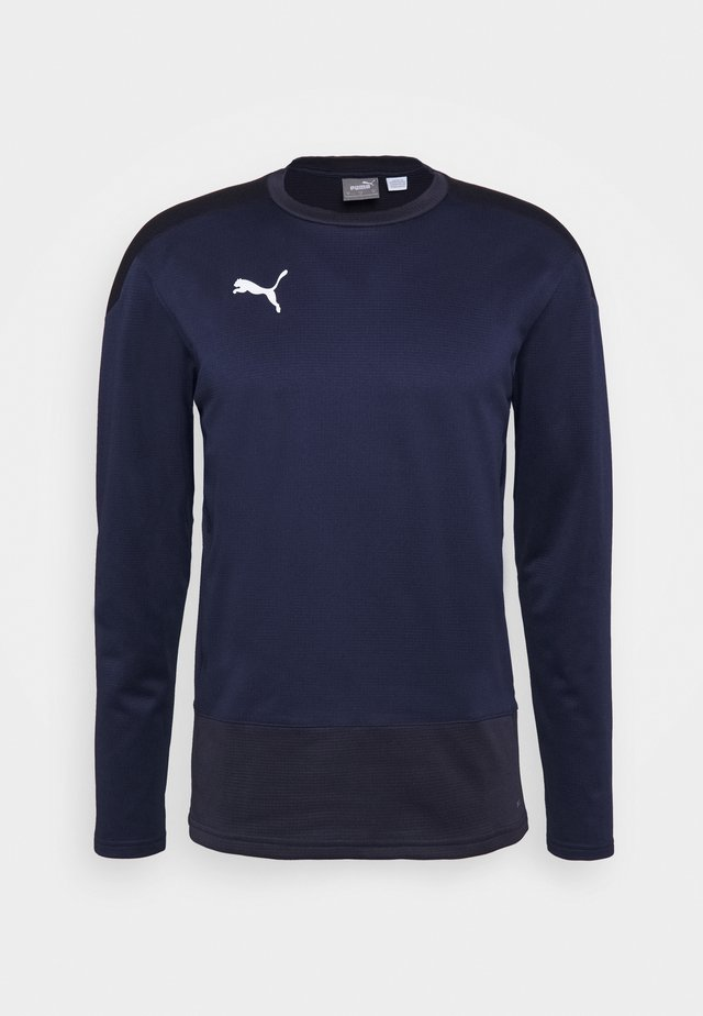 TEAMGOAL - Sports shirt - peacoat/new navy