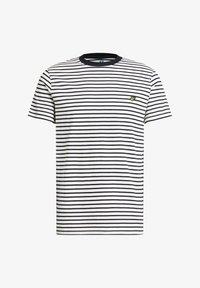 WE Fashion - MET STREEPDESSIN - Print T-shirt - white - 5