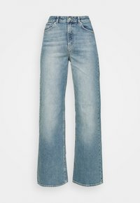 CINDY - Flared Jeans - blue denim