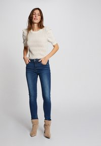 Morgan - Slim fit jeans - blue denim - 1