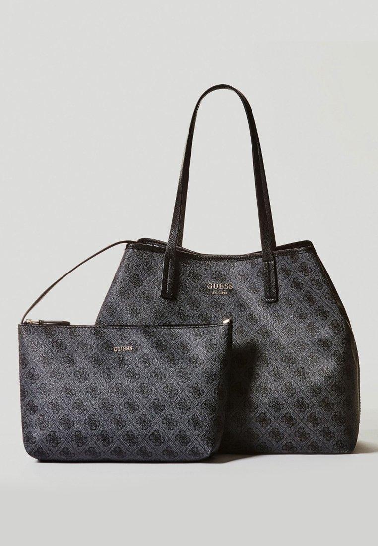 Guess VIKKY - Shoppingveske - dark grey/svart lgxL3Z5B2mvsl07