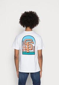 '47 - SAN FRANCISCO GIANTS BACKER ECHO - T-shirt print - white wash - 2