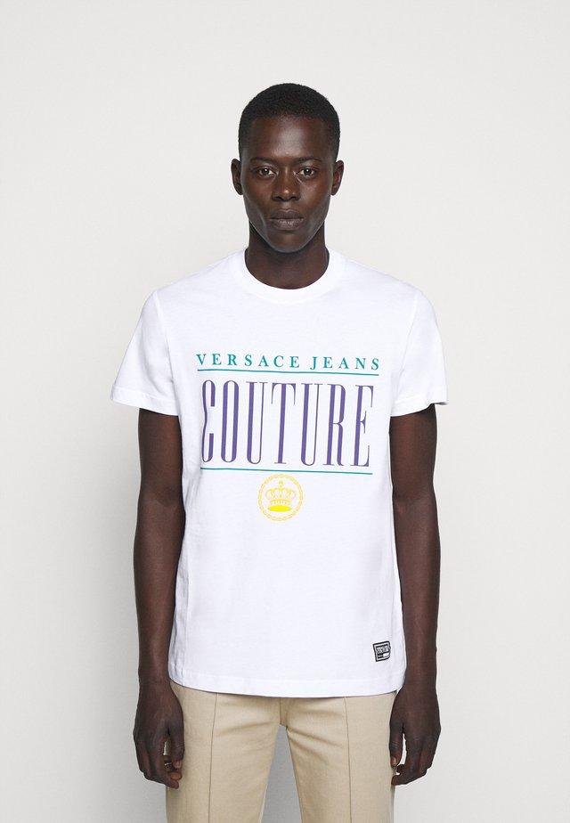 MAN - T-shirt print - bianco