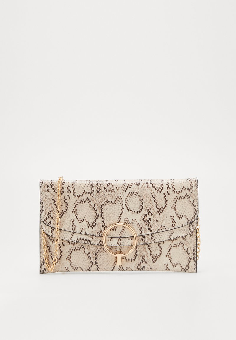 New Look - REESE SNAKE RING DETAIL - Pochette - brown