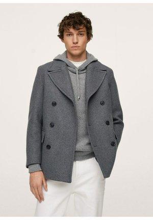 MANTEL  - Manteau court - gris