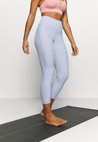 Cotton On Body - POCKET 7/8 - Leggings - baltic blue - 0
