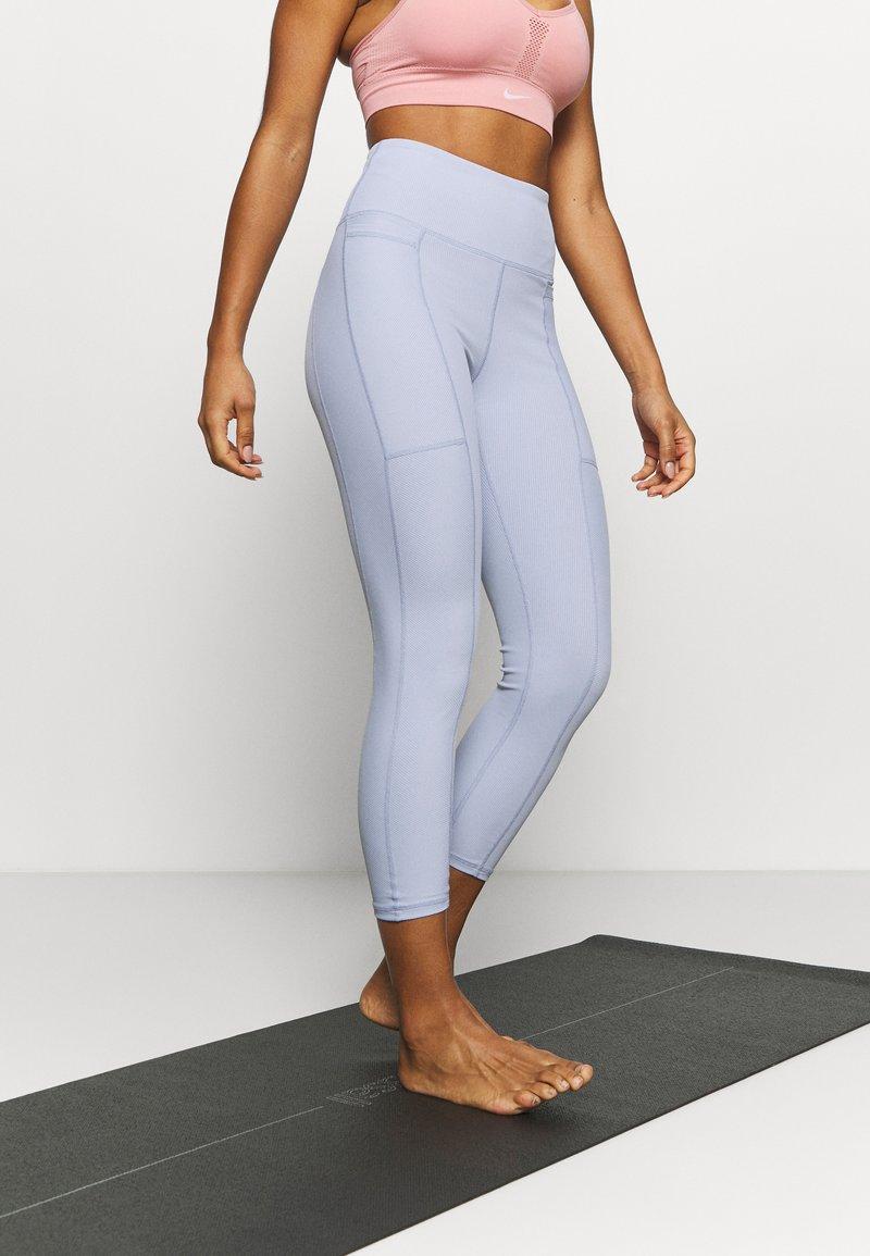 Cotton On Body - POCKET 7/8 - Leggings - baltic blue