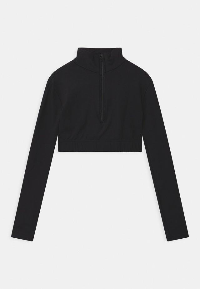 TURTLENECK - Pitkähihainen paita - black