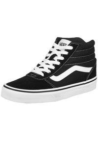 Vans - WARD HI - High-top trainers - black / white - 1