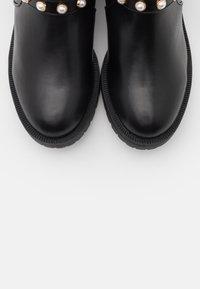Bianco - BIAPEARL FASHION BOOT - Cowboystøvletter - black - 5