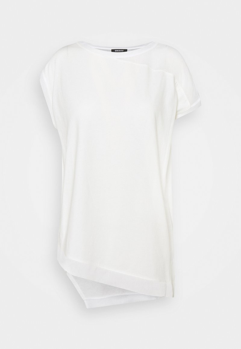 DKNY - Print T-shirt - ivory