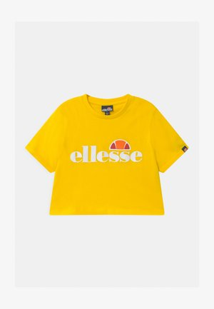 NICKY - T-shirt con stampa - yellow