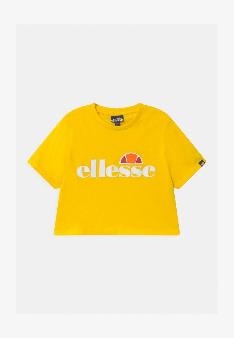 Ellesse - NICKY - Camiseta estampada - yellow