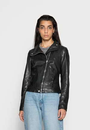 KLEA - Leather jacket - black
