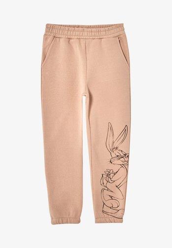 LOONEY TUNES - Spodnie treningowe - beige