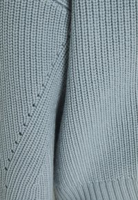 Proenza Schouler White Label - CARDIGAN BUTTON BACK - Cardigan - steel blue - 6