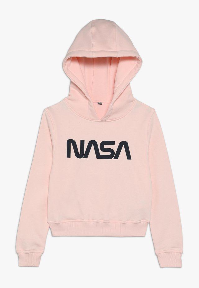 KIDS NASA CROPPED HOODY - Huppari - rosa